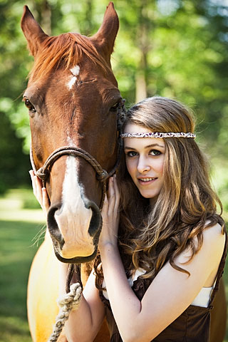 Woman horse picture 63